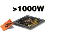 Fontes de alimentação + de 1000W