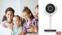 "Smart Camera WiFi 1/3"" CMOS 2MP 4mm F2.0 1080P HD controlo vocal Alexa"