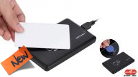 Leitor externo USB 2.0 de cartões RFID