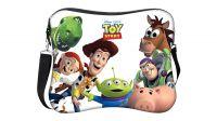 """Bolsa para portátil em neoprene até 10"""" Disney com alça para ombro"""