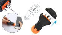 Kit de ferramentas e acessórios para reparação de tablet e telemóvel 9 peças