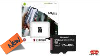 Cartão de memoria Kingston Micro SDXC Class 10 R:100MB/s W:85MB/s