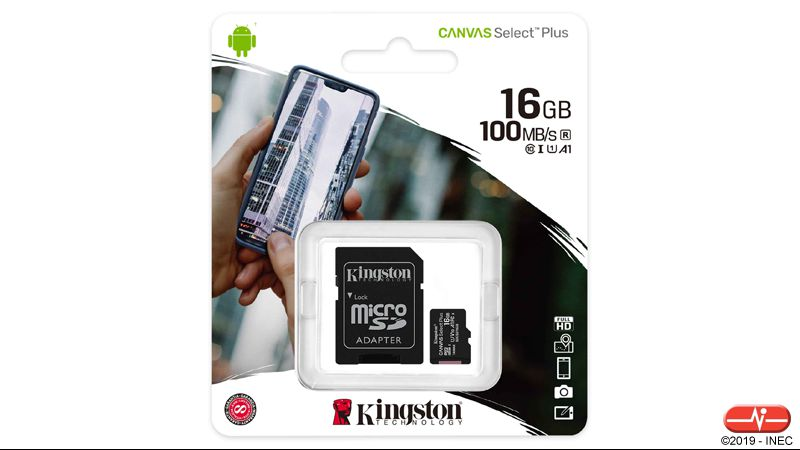 KG 5316 >> Capacidade: 16 GB