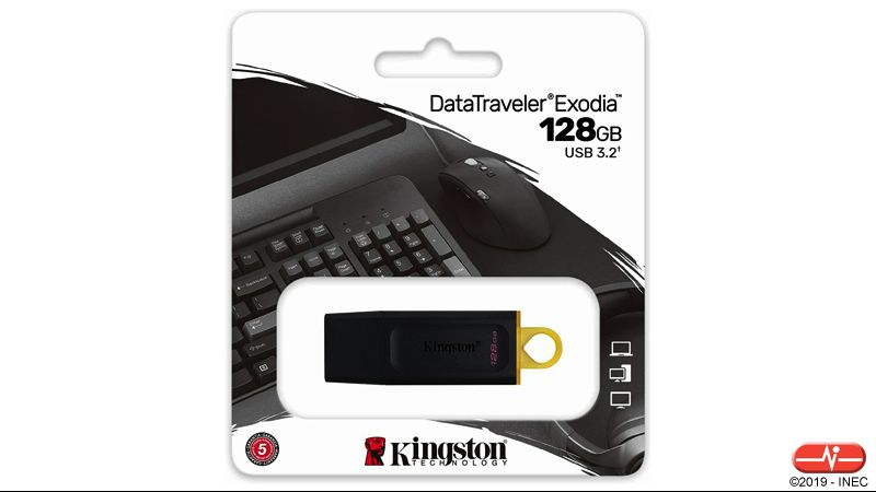 KG 7682 >> Capacidade: 128 GB