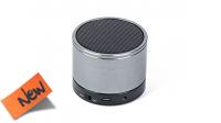 Coluna bluetooth V3.0 c/Micro 3W USB cinzento
