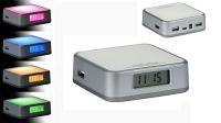 Hub USB 4 portas V2.0 com luzes coloridas