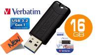 Verbatim Pendrive Pinstripe  USB 3.0 16Gb